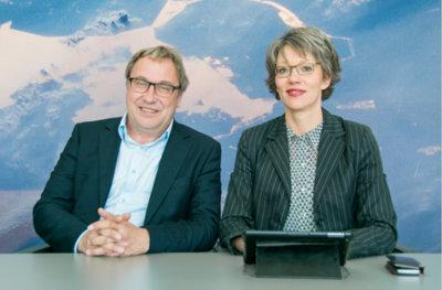Jan Haverdings en Dorine Rensen
