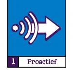 Visualisatie van Basisprincipe 1: Proactief.