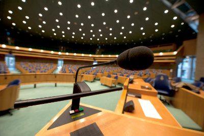 Plenaire vergaderzaal Tweede Kamer