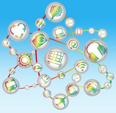 Illustratieve afbeelding: open standaarden zorgen voor verbindingen tussen verschillende apparaten