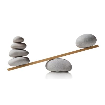 Stenen afwegen