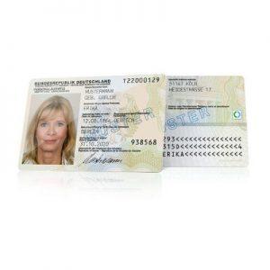 Duitse ID-card