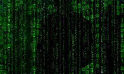 Man digitale identiteit in code