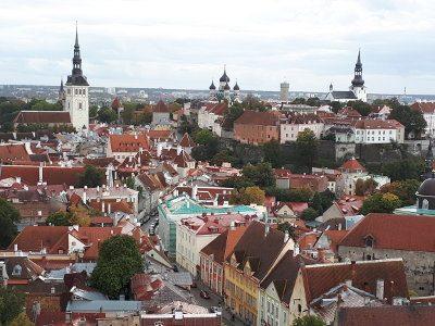 Talinn, hoofdstad van Estland