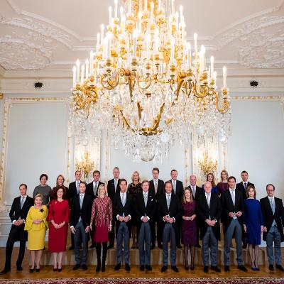 Groepsfoto kabinet Rutte 3