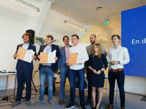 De winnaars van de SBIR Gegevenslandschap