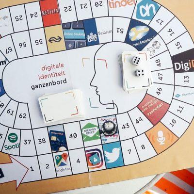 Ganzenbordspel Digitale Identiteitslab