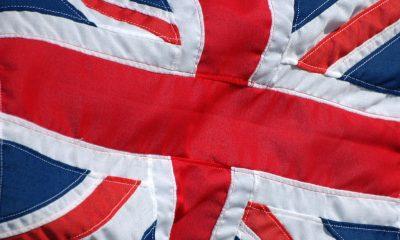 close up van Britse vlag