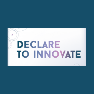 Tekst: Declare to innovate