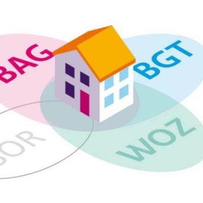 basisregistraties in samenhang: huis met BAG-BGT-WOZ
