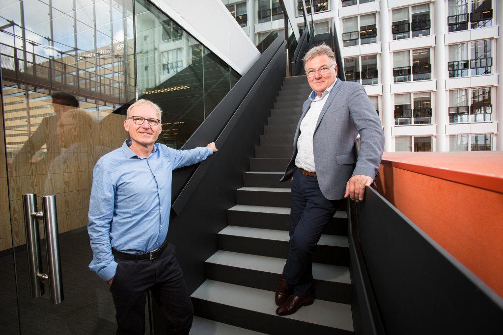 Tony Liebregts en Dirk Jan Oostwoud Wijdenes