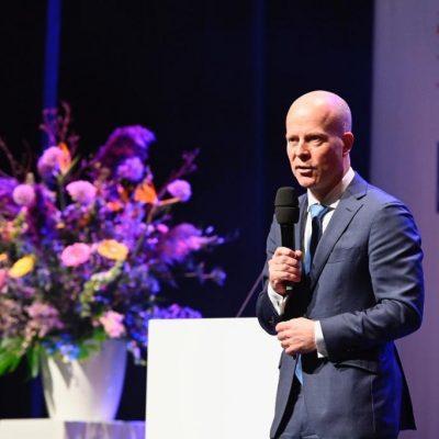 Knops Nederland Digitaal 2019 op het podium