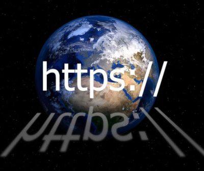 Illustratieve afbeelding https en wereldbol