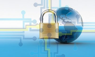 Illustratieve afbeelding van veilige internetverbinding