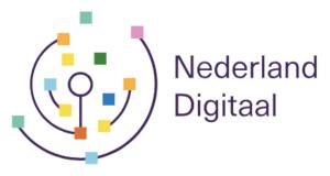 "Banner: Logo met tekst ""Nederland Digitaal"""
