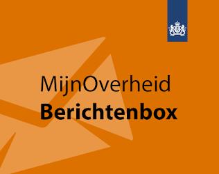 Illustratieve afbeelding met tekst MijnOverheid Berichtenbox