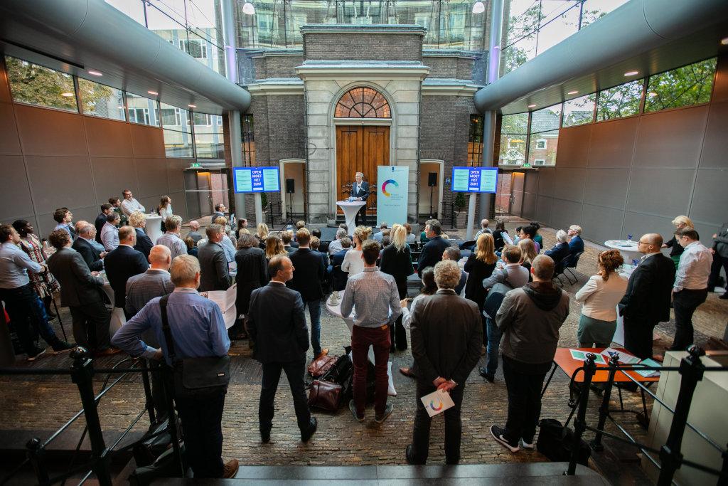 Bijeenkomst lancering Actieplan Open Overheid 2018-2020.