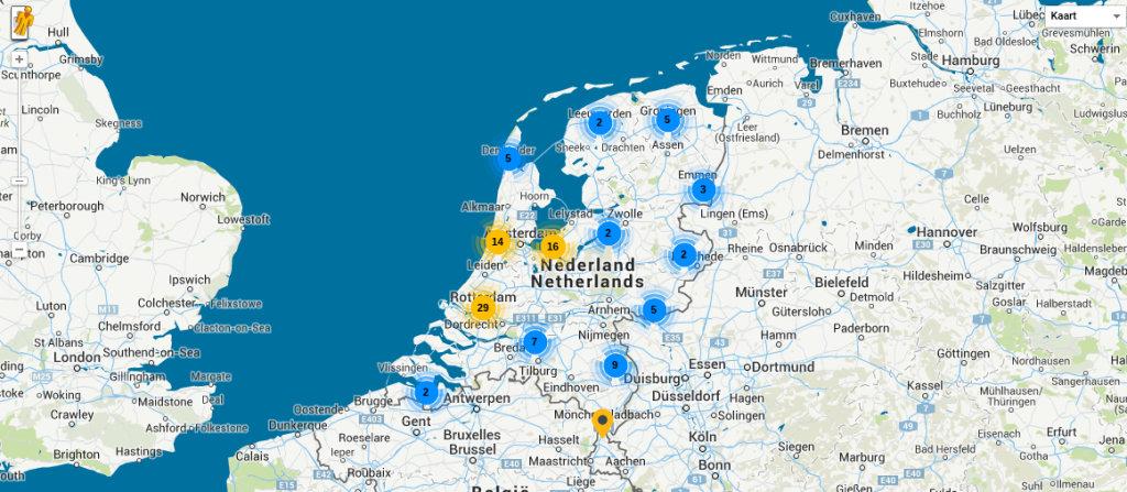 Afbeelding van een kaart.