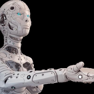 Een robot die bijna menselijk gedrag vertoont
