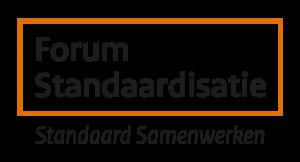logo van het forum standaardisatie