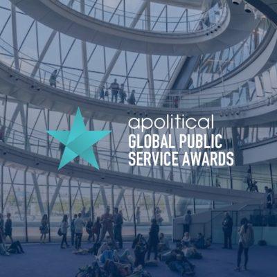 logo van political global public service awards