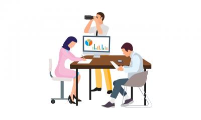 een team werkt aan bewustwording digitale kwetsbaarheid van hun organisatie